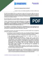 PPI1103001 Obligación de Llevar Extintor en Vehículos de Empresa
