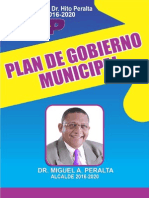 Plan de Gobierno Municipal de Miches
