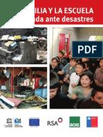 Diptico La Familia y La Escuela Preparada Ante Desastres