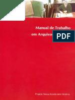 Manual de Trabalho Em Arquivos Escolares