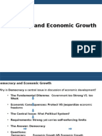 Democracy and Economic Growth
