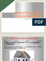 Arquitectura y Cosntruccion
