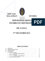 Malaysian Studies Project