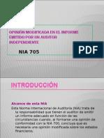 NIA 705