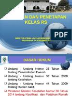 Perijinan Dan Klasifikasi RS