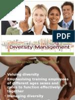 Diversity Mgt