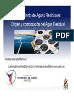 2. Origen y Composicion Del Agua Residual