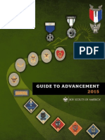 BSA Guide to Advancement 2015