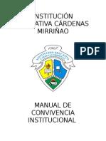Manual Convivencia 2013