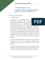 FORMATO ANEXO 06 ESTUDIO HIDROLOGICO PARA LA ACREDITACION DE LA DISPONIBILIDAD HIDRICA SUPERFICIAL