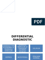Demensia - Dd, Penatalaksanaan, Prognosis