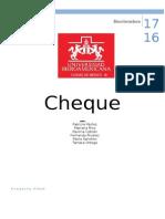 Cheques Presentación Completa