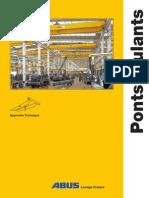 Catalogue Pont Roulant ABUS