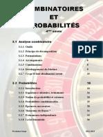 Combinatoires Et Probabilites