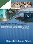 NNSA Enterprise Strategic Vision -- August 2015