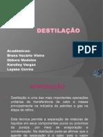 DESTILAÇÃO FLASH
