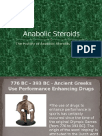 anabolic steroids power point