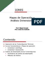 Mapas de Operacion y Analisis Dimensional