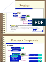 Routings & PRT