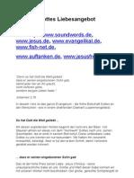 Evangelium Kurzversion Mit Linktip