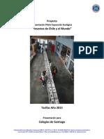 Propuesta Exposición Insectos de Chile y El Mundo - Año 2015