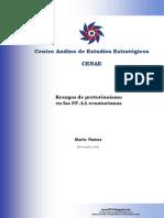 Rezagos de Pretorianismo en Las FFAA Ecuatorianas