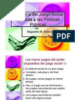 Teoria Del Juego Social de Carlos Matus.ppt