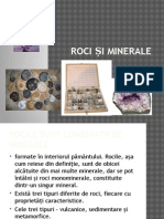 Roci si Minerale