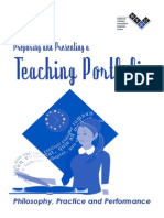Hr-preparing and Presenting a Teaching Portfolio