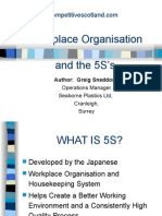 5S-Work Place Orgn