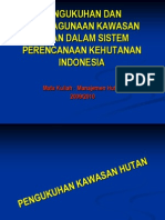 01. Pengukuhan Dan an Kawasan Hutan (BP 2010)