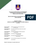 MECHANICAL ENGINEERING DESIGN 2 Report