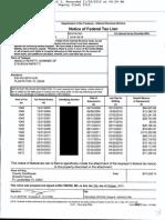 Angela Repetti & Steven Repetti Tax Lien $575,558.74