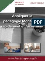 Appliquer La Pedagogie Montessori