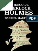El Juego de Sherlock Holmes - Gabriel Martinez