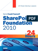 Sams - Teach Yourself SharePoint Foundation 2010 in 24 Hours