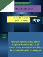 Budidaya Air Tawar