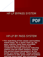Hp-lp by Pass System