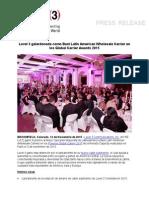 Release Latam Capacity Award 2015 11-12-15 SPAN