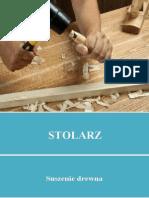 Stolarz - Suszenie drewna