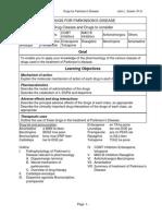 Pharm Parkinsons Handout
