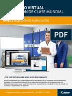 Diplomado en Lubricacion de Clase Mundial en Linea Nivel 2