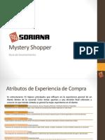 Tiendas Soriana. Guía de Levantamiento de Mystery Shopper
