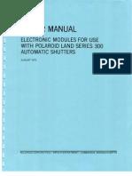 Polaroid Repair Electronic Modules-300 Automatic Shutters-1972