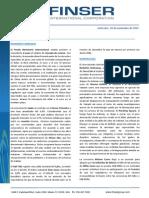 Reporte Semanal (16 de Noviembre 2015)