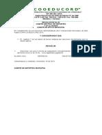 Resolucion de Sanciones No 08 Nov. 18 de 2015