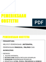 2.Pemeriksaan Klinik Obstetri Ppt
