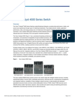 Datasheet Cisco 4500 Series