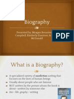 biography presentation 3
