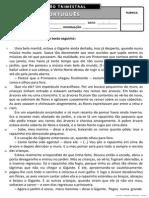 Ficha de Avaliação Trimestral - 2º Período - 4º ano PORT I (1).pdf